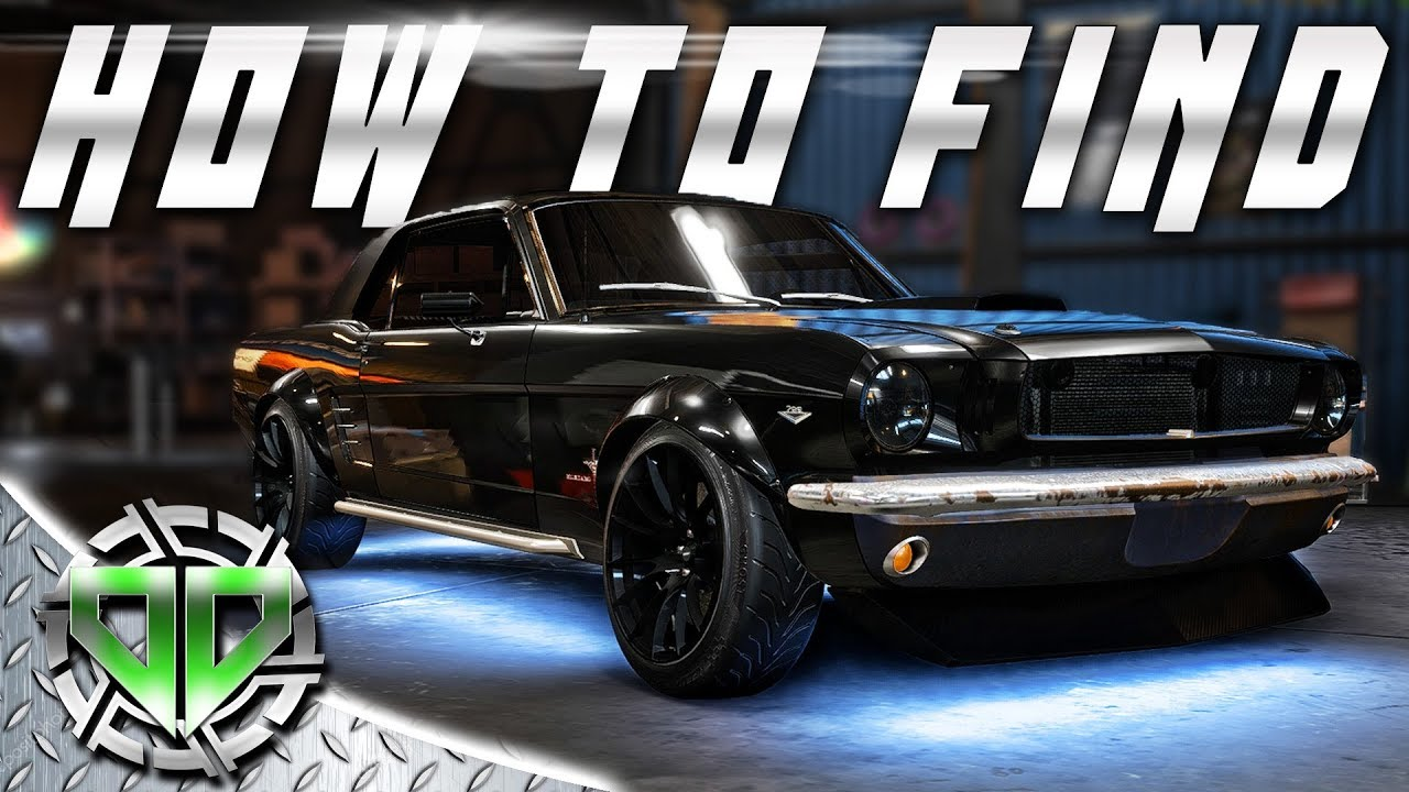 How To Find Derelict Mustang Parts Need For Speed Payback Gameplay Pc Lets Play