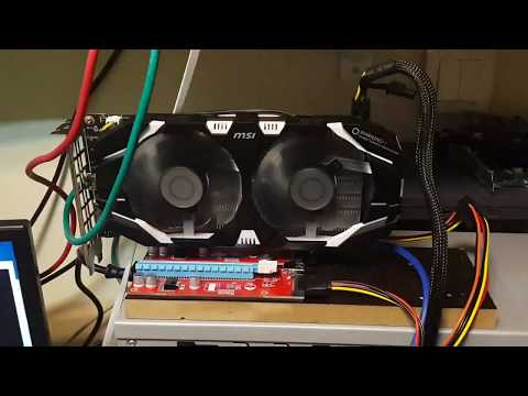 MSI Mining P106-100 6GB Nvidia Zcash