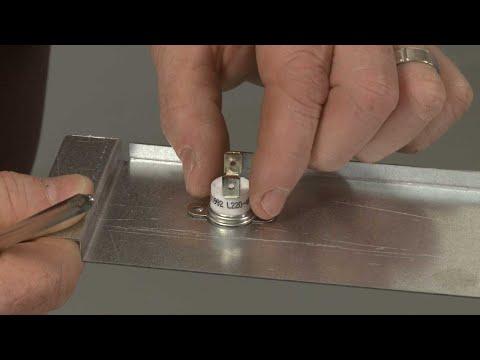 Warming Drawer Thermal Fuse - Kitchenaid Electric Slide-In Range Model #KSEB900ESS2