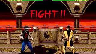 Mortal Kombat 2 -  Kung Lao (Sega Genesis) (By Sting)