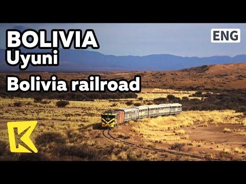 【K】Bolivia Travel-Uyuni[볼리비아 여행-우유니]볼리비아 철도의 밝은 미래/Railroad/Andes/Plateau/Train