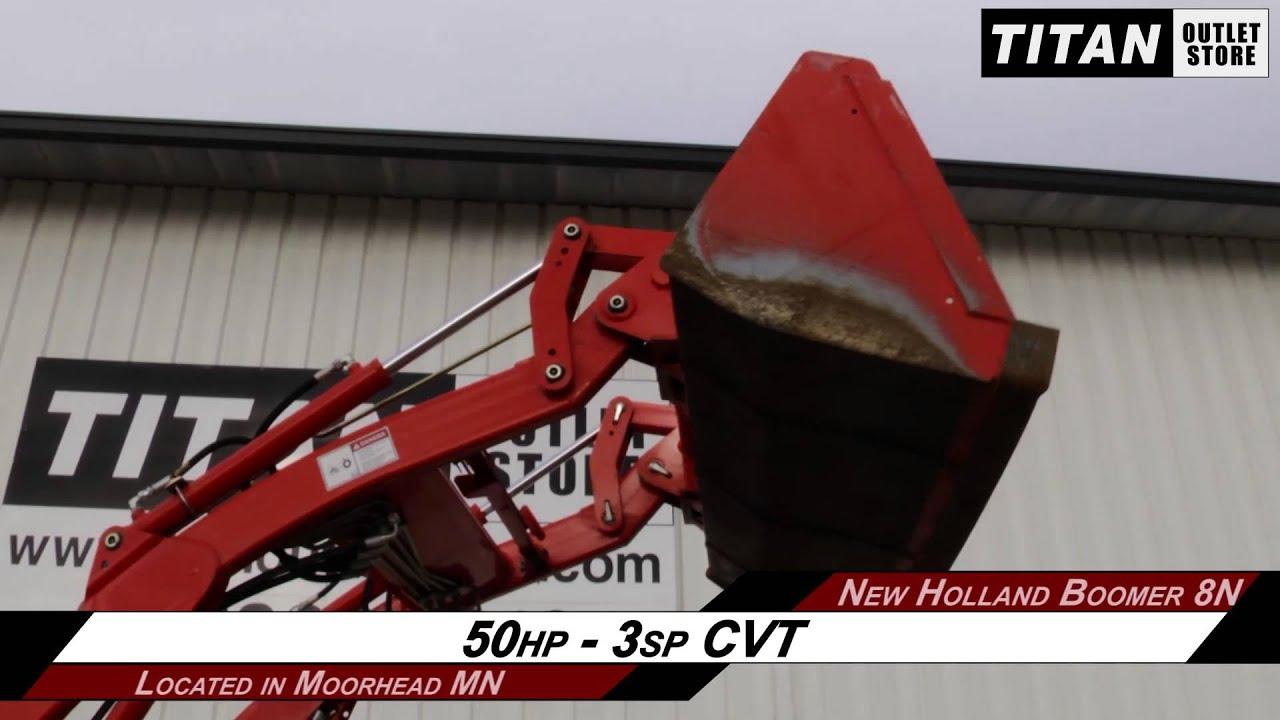 New Holland AG Boomer 8N - 250TL Loader, 288 hrs, CVT Tractor Sold on ELS!