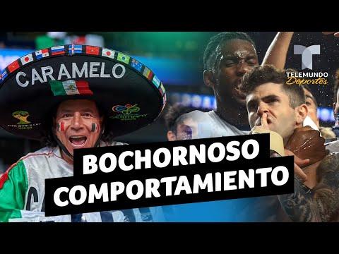 DT de EE. UU. critica a afición mexicana | Telemundo Deportes