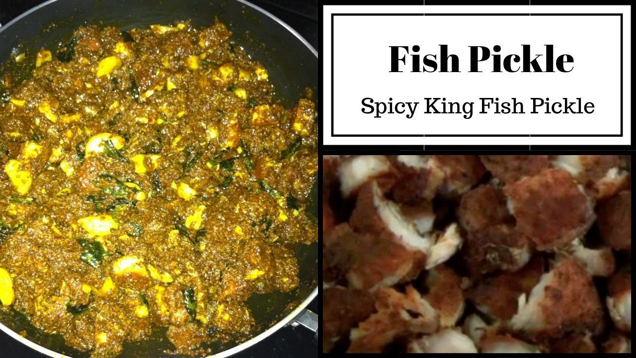 Spicy Fish Pickle | வஞ்சரம் மீன் ஊறுகாய் | King fish pickle w/Eng subtitle | Tamil | Canada vlogs