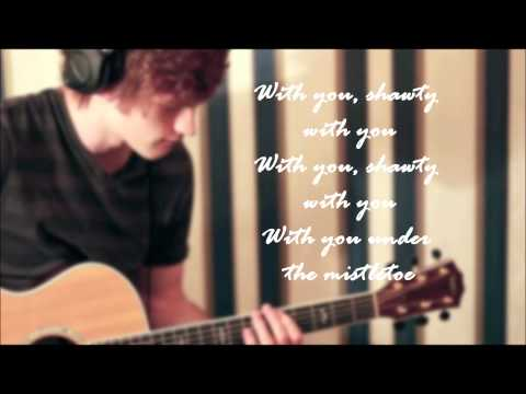 Tanner Patrick - Mistletoe Lyrics on screen