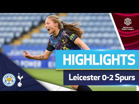 Williams and Addison's goals maintain a 100% winning start |  FAWSL HIGHLIGHTS |  LEICESTER 0-2 FOOTREST