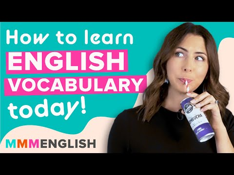 How to Learn New English Words Today | Vocabulary Tips