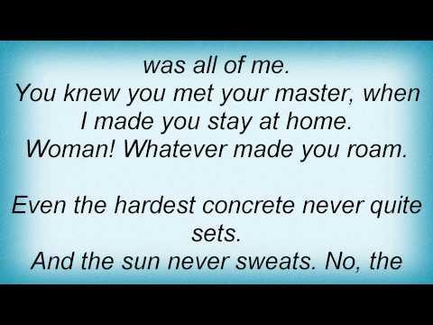 Spinal Tap - The Sun Never Sweats Lyrics