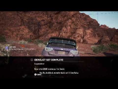 Need For Speed Payback C10 Sidestep Pickup Derelict All Parts
