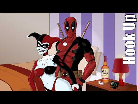 Cartoon Hook-Ups: Deadpool and Harley Bloopers