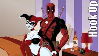 Cartoon Hook-Ups: Deadpool and Harley Bloopers