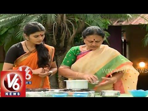 "V6 Telangana Shakam ||  ""Pappu - Pachipulusu"" Recipe || V6 News"