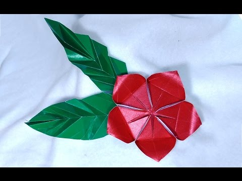 Origami flower Helena . Ideas for Easter decorations.