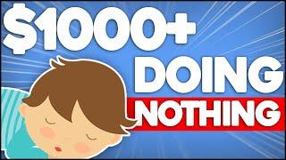 No Work | Make Money On Autopilot For FREE! ($1000+)