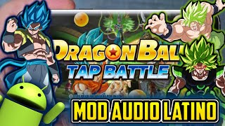 Gambar cover Descarga Nuevo Dragon Ball Super Tap Battle Audio Latino MOD APK Con 87 Personajes Para Android