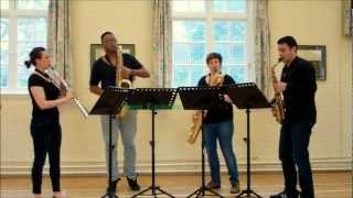 Prelude in D minor – saxophone quartet music