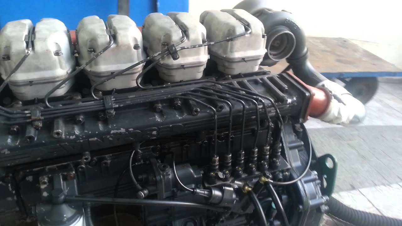 Teste Motor Scania 124 Marinizado Youtube