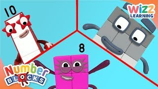 Numberblocks - Greater Than | Learn to Count | Wizz Learning