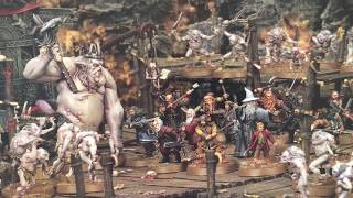 The Hobbit: Escape From Goblin Town Strategy Battle Game Unboxing