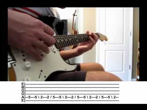 Guitar guitar cover with tabs : Seether - Fine Again electric guitar cover with tabs - YouTube