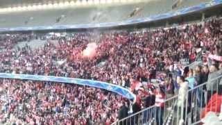 Stern Des Südens Allianz Arena 25.05.2013 champions league Finale BVB Dortmund  FC Bayern München