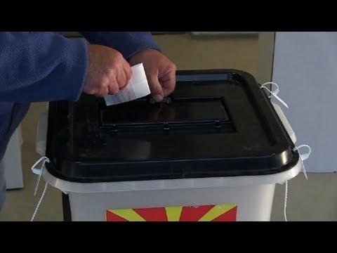 Les Macédoniens se rendent aux urnes pour la présidentielle | AFP Images