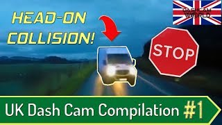 2019 UK Dash Cam Compilation #1: Bad Drivers, Road Rage, Close Calls & Crashes