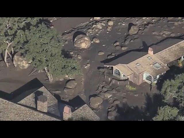 В Калифорнии ищут пропавших после схода сели