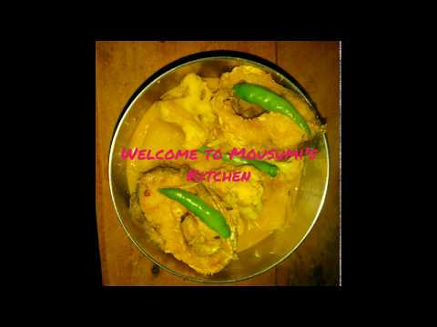 Special coliflower Fish Curry.....in simple Home Style.