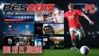 PES 2015 | Menus, Licencias, etc. | Juego completo PC
