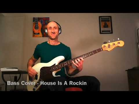 Stevie Ray Vaughan - The House Is Rockin' - Bass Cover