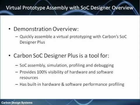 Assembling Your System on Chip Virtual Prototype With SoC Designer