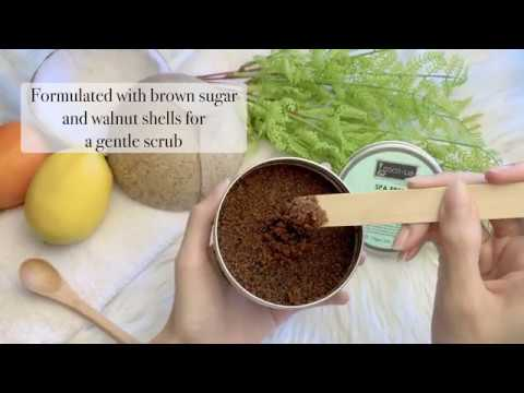 COCOLAB Spa Fresh Body Scrub - Refresh your skin appearance with active skin-brightening properties