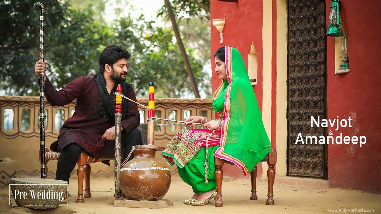 Download Pre Wedding | Gani + Dachi Waleya | Navjot & Amandeep | Ajay Parkash Photography