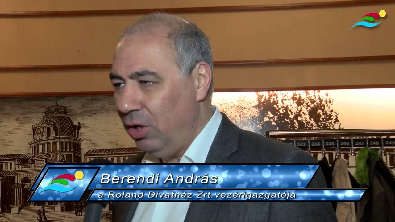 5701edef4d Berendi András, a Roland Divatház Zrt. vezérigazgatója a Jövő Bajnokai  Programról és a kiadványról