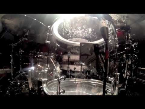 Placebo's Steve Forrest and his acrylic SJC kit
