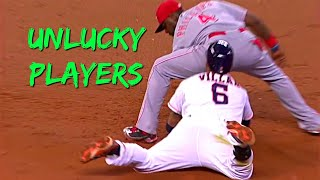 MLB Unlucky Players