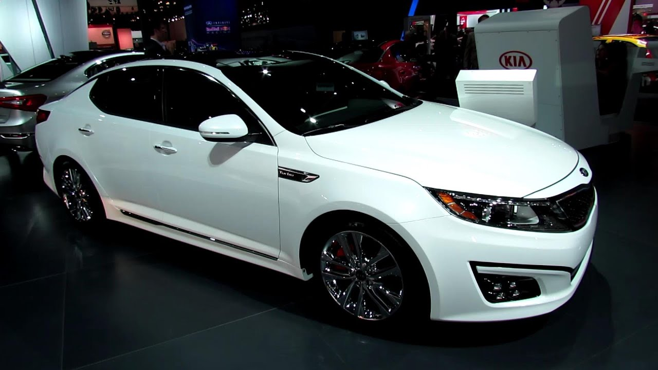Good 2014 KIA Optima SX L   Exterior And Interior Walkaround   2013 New York  Auto Show   YouTube