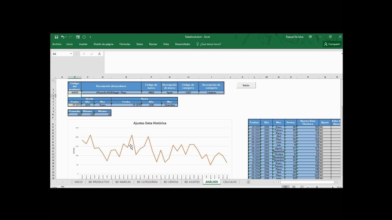 Análisis y corrección de la data con Excel para generar ...