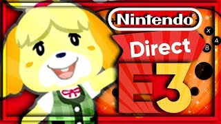 🔴 • MA RÉACTION, PREMIÈRE IMAGE ANIMAL CROSSING SWITCH/NEW HORIZONS !