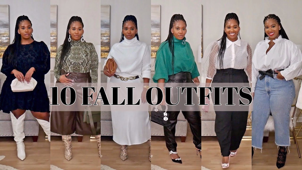 [VIDEO] - 10 FALL OUTFITS THAT ARE ON TREND! | POCKETSANDBOWS 3