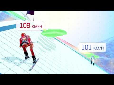 Ski Racing The Line