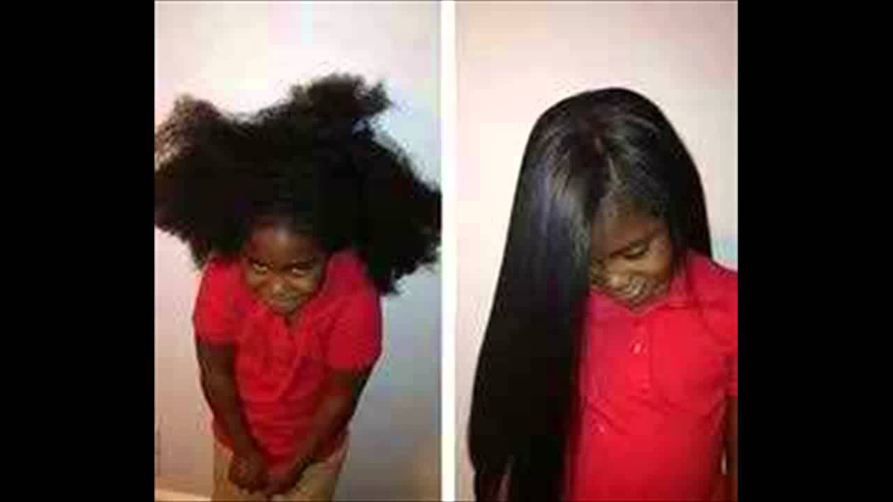 Best African American Hairstyles For Kids With Long Hair Youtube