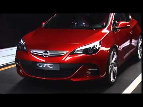 ► 2012 Opel GTC - 2010 Paris Motor Show