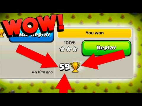 MOST TROPHIES POSSIBLE - Clash Of Clans - 10 MINUTE TROPHY CHALLENGE! Pushing From 0