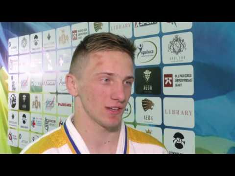 Смотреть видео Артем Лесюк - чемпіон України серед молоді до 23 років