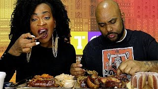 THE GREATEST BARBEQUE MUKBANG! GRANDMAMA MADE THIS!