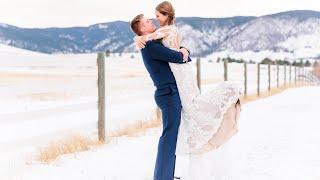 Elegant Winter Wedding in Colorado Springs (FULL HIGHLIGHT)
