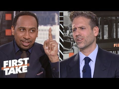 Stephen A. accuses Max of overreacting to Nick Foles, Eagles' win vs. Rams | First Take
