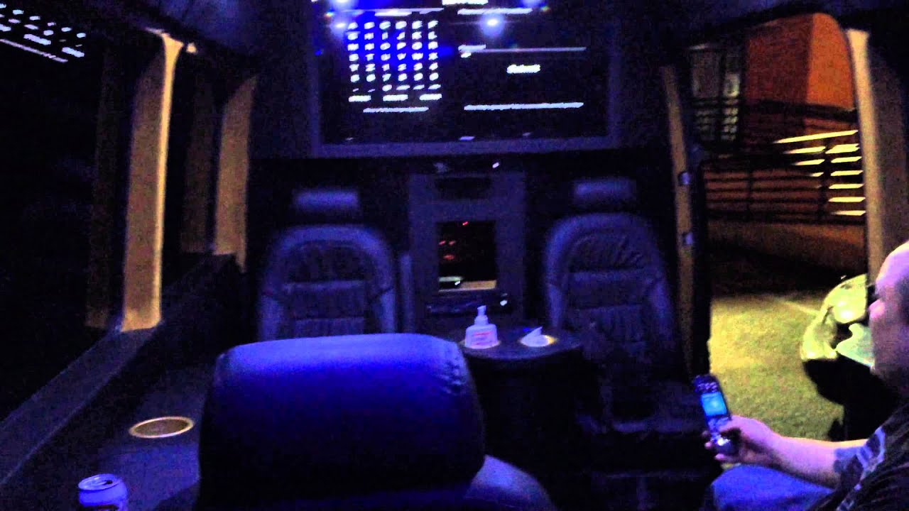 Dodge Conversion Van >> Ultimate Mobile Gaming LAB Dodge Sprinter Van Conversion ...
